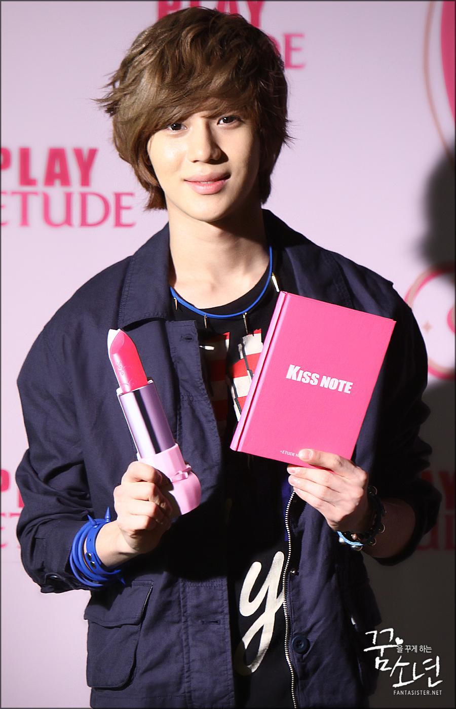 Shinee Jonghyun 2012 ETUDE! KISS NOTE JONGH...